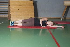 Äußere/laterale Muskelkette