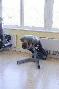Rückenstrecker + BWS Rotation - Variante b